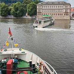 Předvánoční plavba po Vltavě - přátelské setkání 14.12.2019
