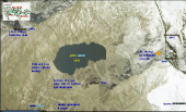 Jezero Zirmsee, horní úpravna rudy, zlaté doly