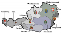 Oblasti Rakouska
