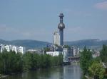 Vídeňská spalovna (architektura Hundertwasser)