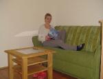 Apartmány - obývací pokoj