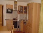 Apartmány - kuchyně