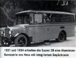 Horský autobus Sauer