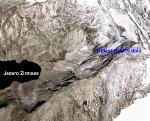 Oblast středověkých zlatých dolů nad jezerem Zirmsee
