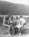Častoboř, Bohuslav Hassmann na letním táboře, 1960