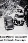 Horský autobus 30. léta
