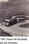 Horský autobus na Julierpassu