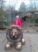 Leštění sochy lva:-)