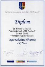 Podnikatel roku 2005