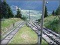 Prostřední stanice lanovky na Reisseck