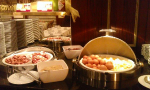 Snídaně v hotelu Bellevue