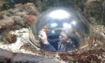 Podhledová bublina - dítě není součástí expozice