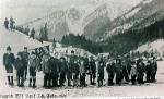 Tauplitzalm, závody mládeže v roce 1914