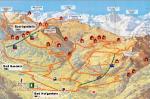 Pěší túry v Bad Hofgasteinu, Bad Gasteinu a Sportgasteinu
